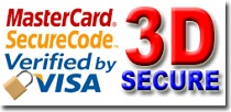 3D Secure Verified by Visa Mastercard Securecode